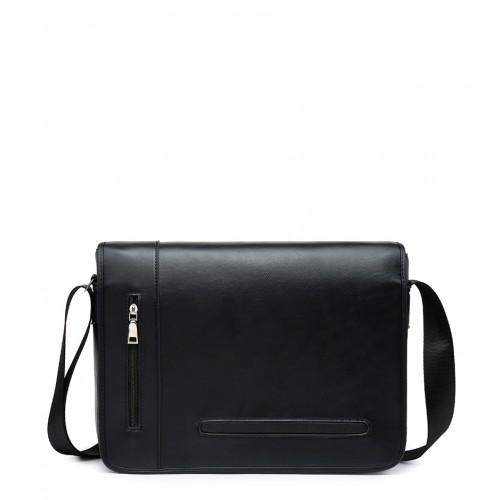 ec3c56f15 Pánska čierna taška na rameno PAN-002-black