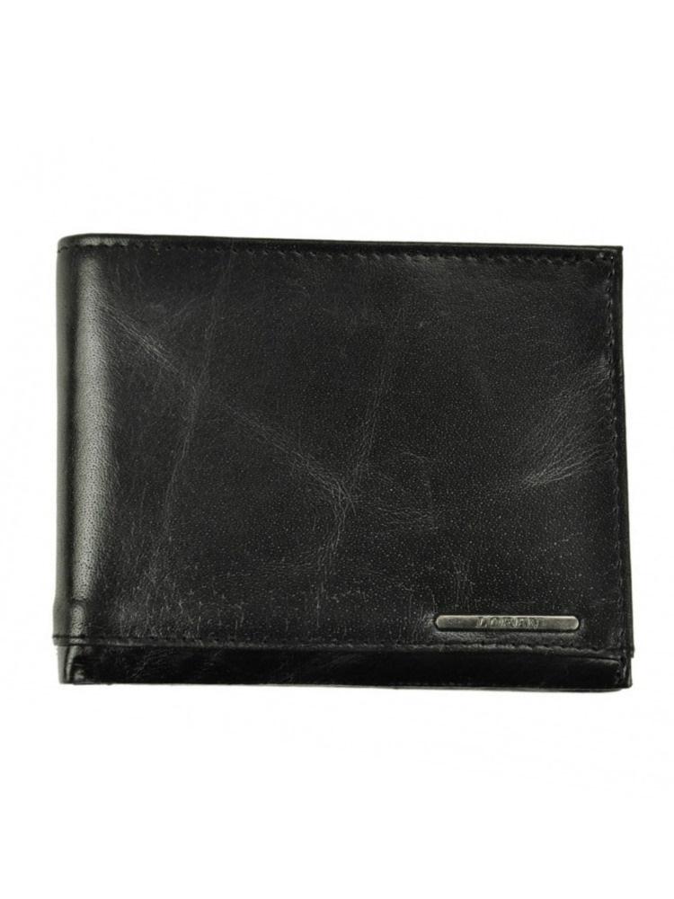 9e210ab36f Čierna pánska kožená peňaženka LOREN FRM-70-07-black