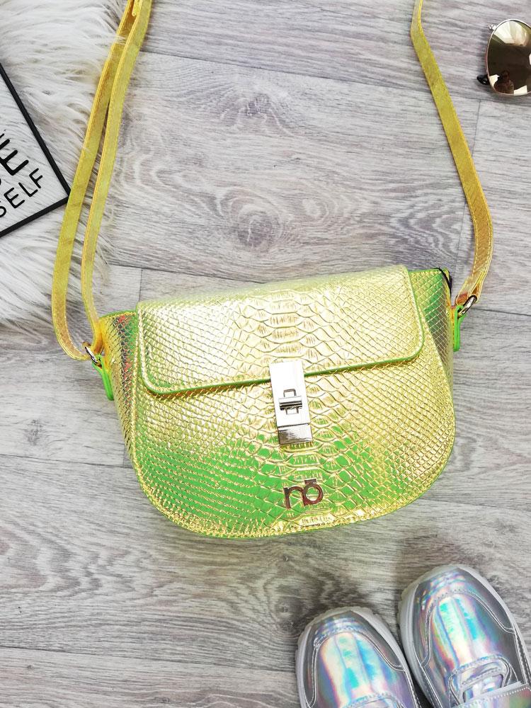 c94a8a0b4b Holografická crossbody kabelka NÓBO NBAG-G2240-C002-yellow