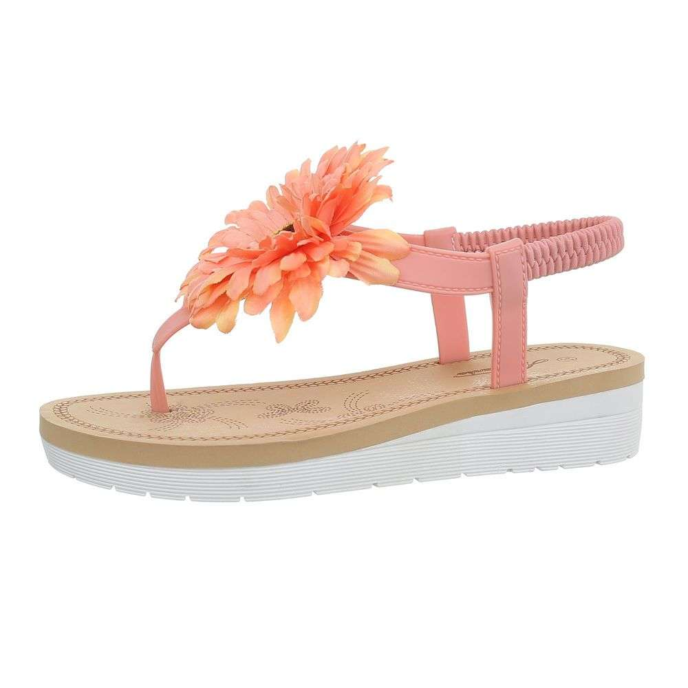 4c9cb4b41d5f Dámske sandále FLEUR TOP-1086-orange