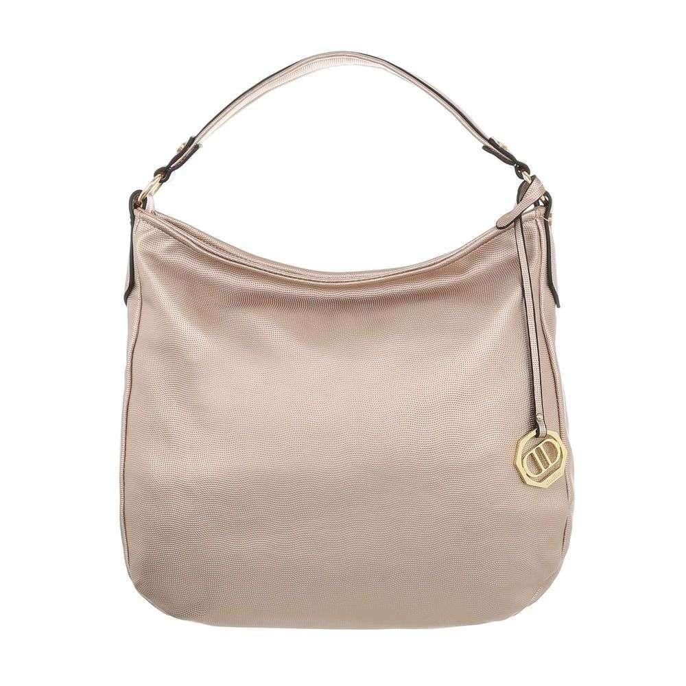 81fa9d2a3f79 Zlatoružová kabelka na rameno VSGL-1450-128-rosegold