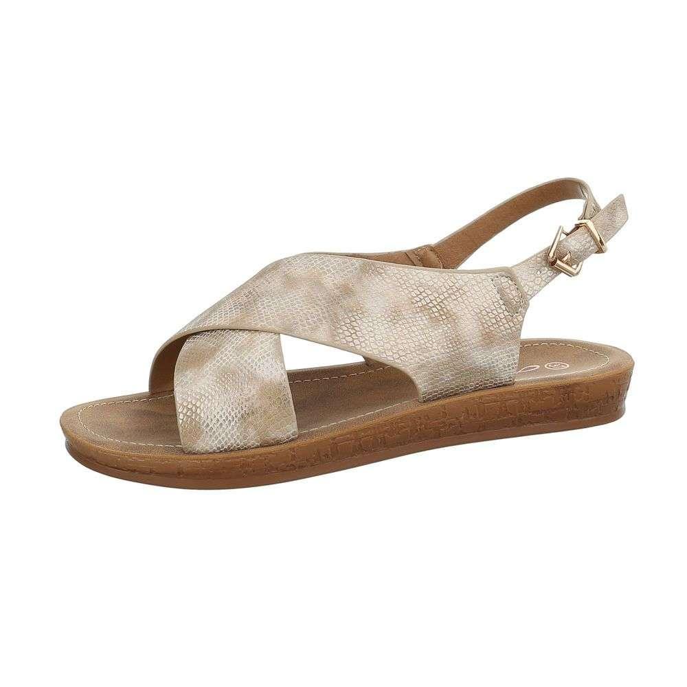 15180e2048c09 Dámske sandále TOP-TS-15-beige