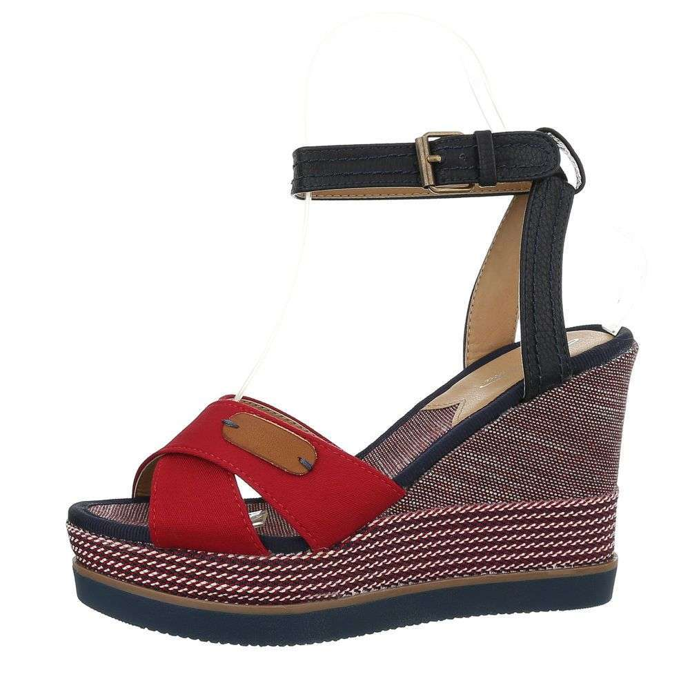 29ee9f343da35 Červené dámske sandále TOP-D-93-red