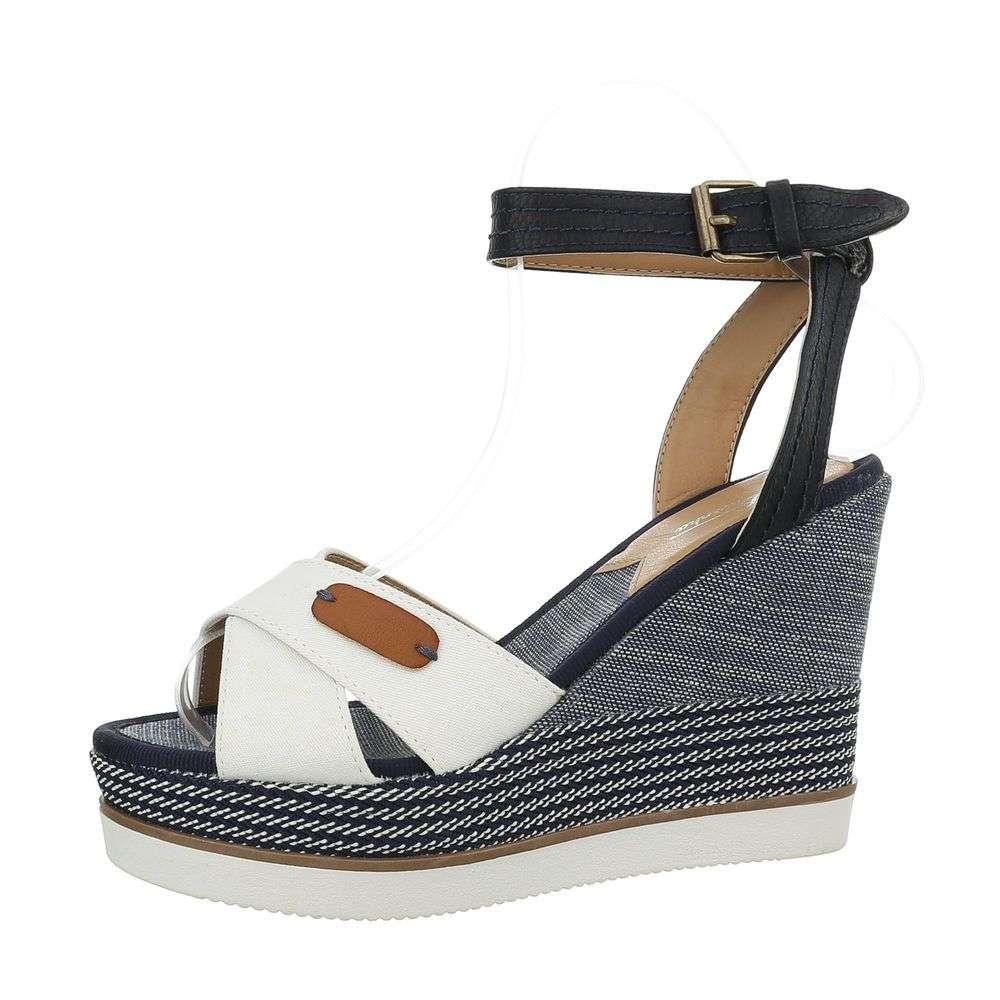 35f4796e5d Biele dámske sandále TOP-D-93-white