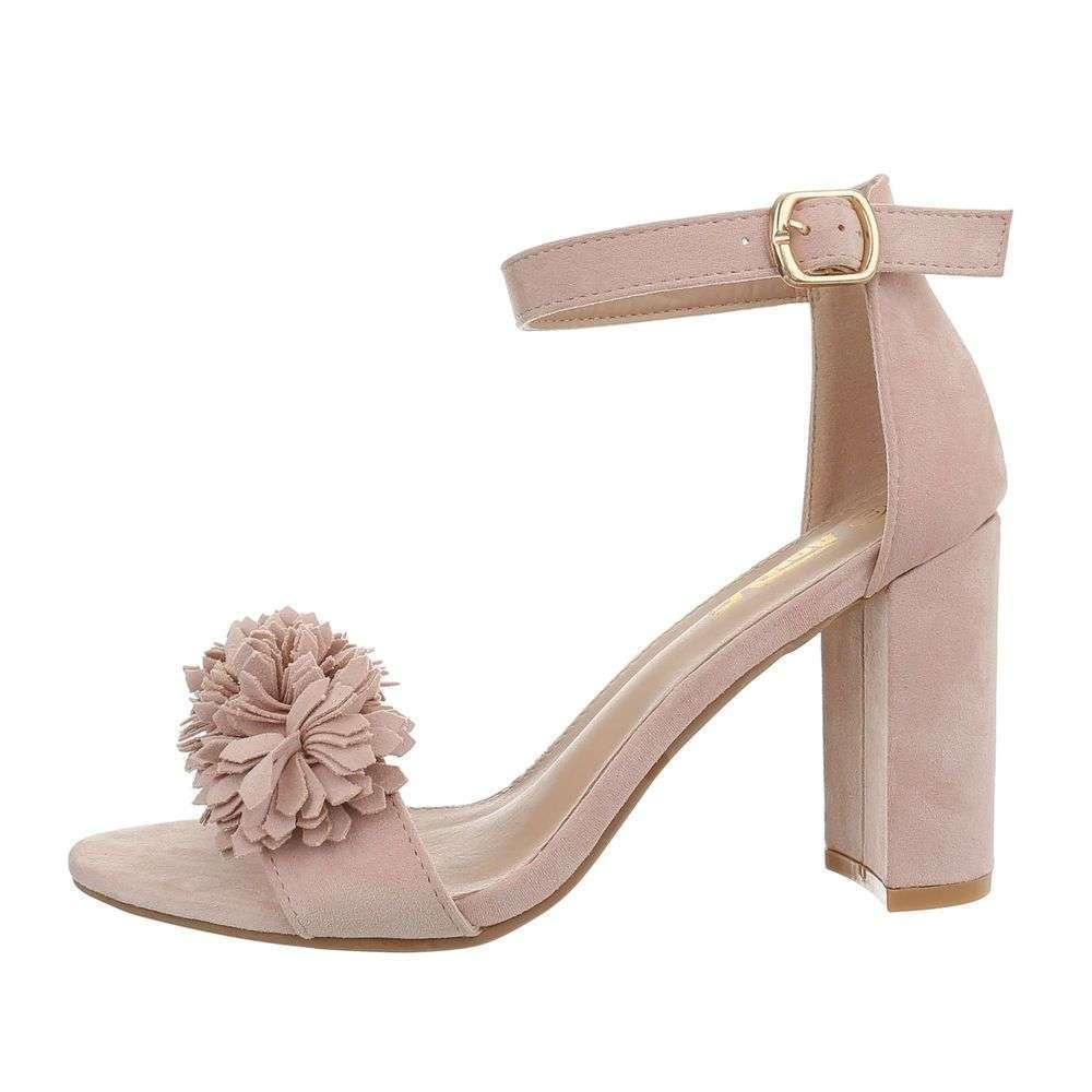 9a42f5bd66 Ružové dámske sandále TOP-690027-pink