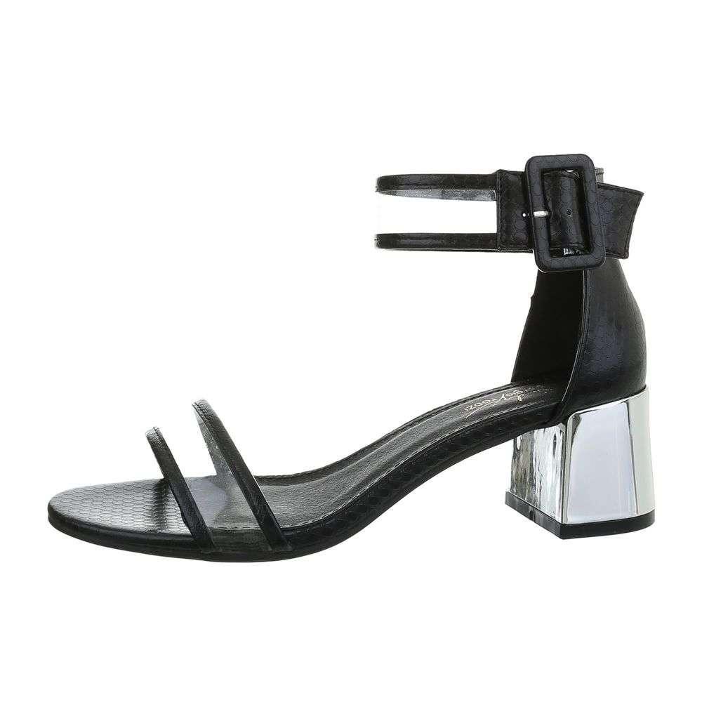 3c9769d6a6 Čierne sandále s transparentným ramienkom TOP-L1265-black