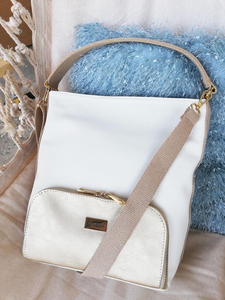 de7b7c54e9 Menšia kabelka do ruky Carla Berry CB-19052-white