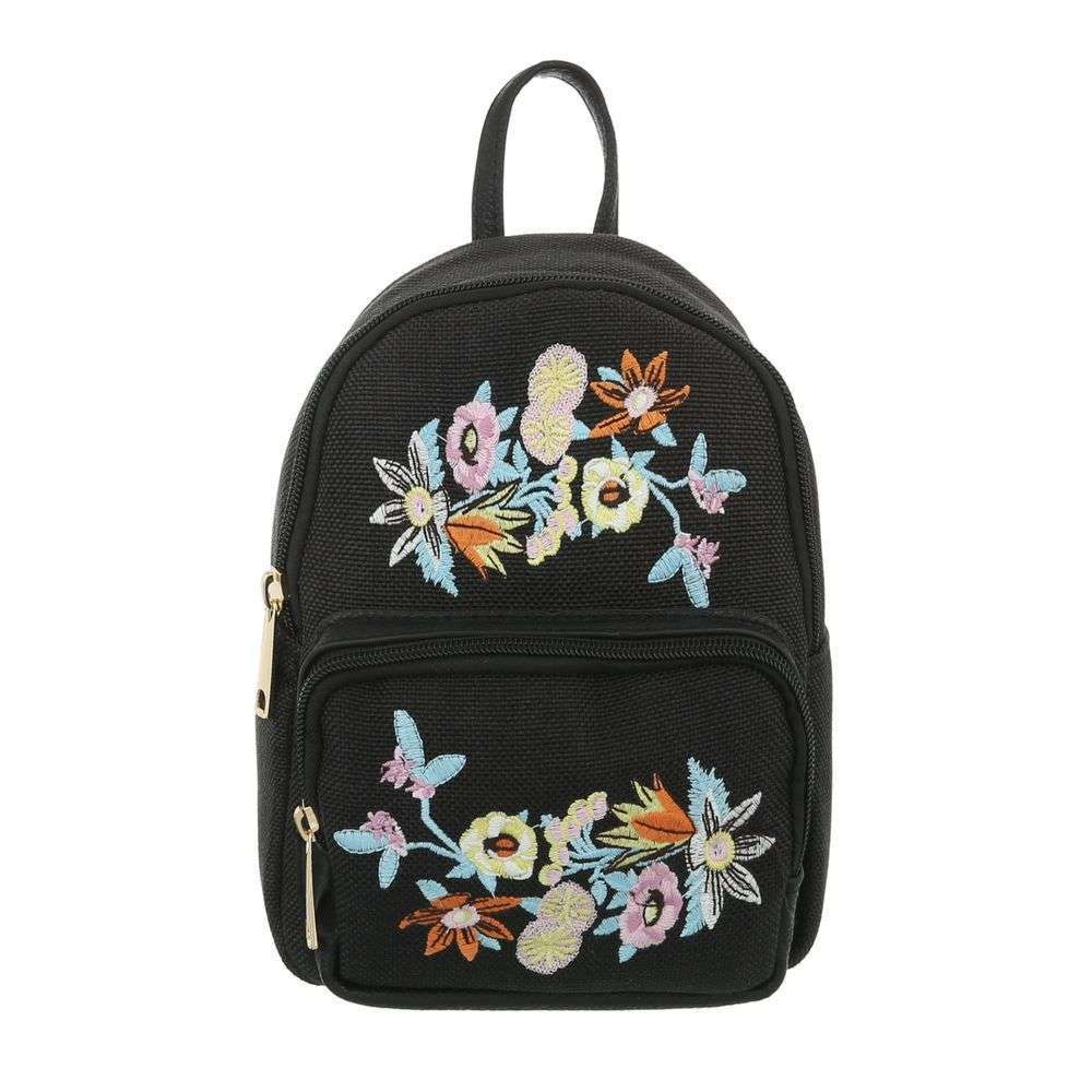 Crossbody / mini vak s nášivkami VSGL-TA-5160-15-black