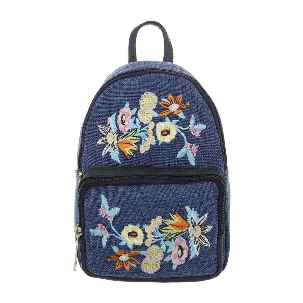 Crossbody / mini vak s nášivkami VSGL-TA-5160-15-blue