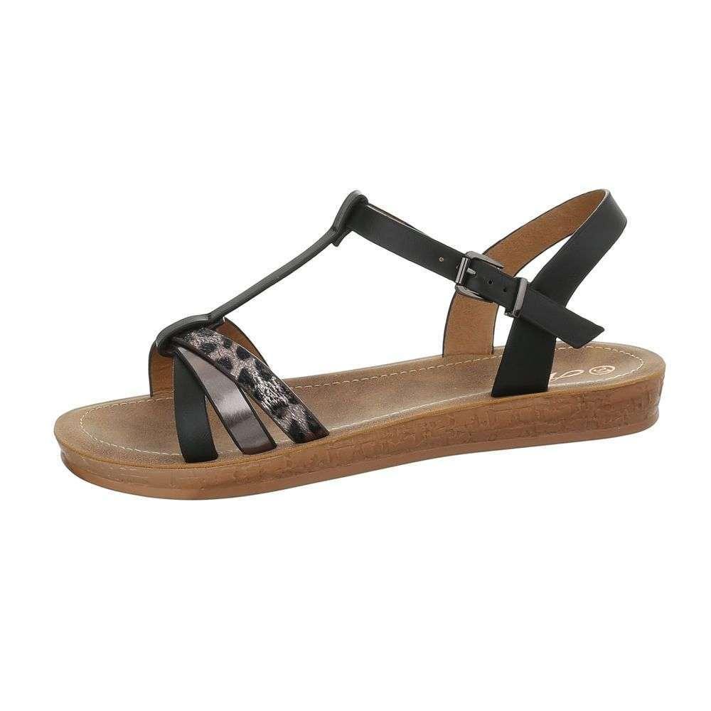 05994f797f89c Pohodlné letné sandále TOP-TS-1-black