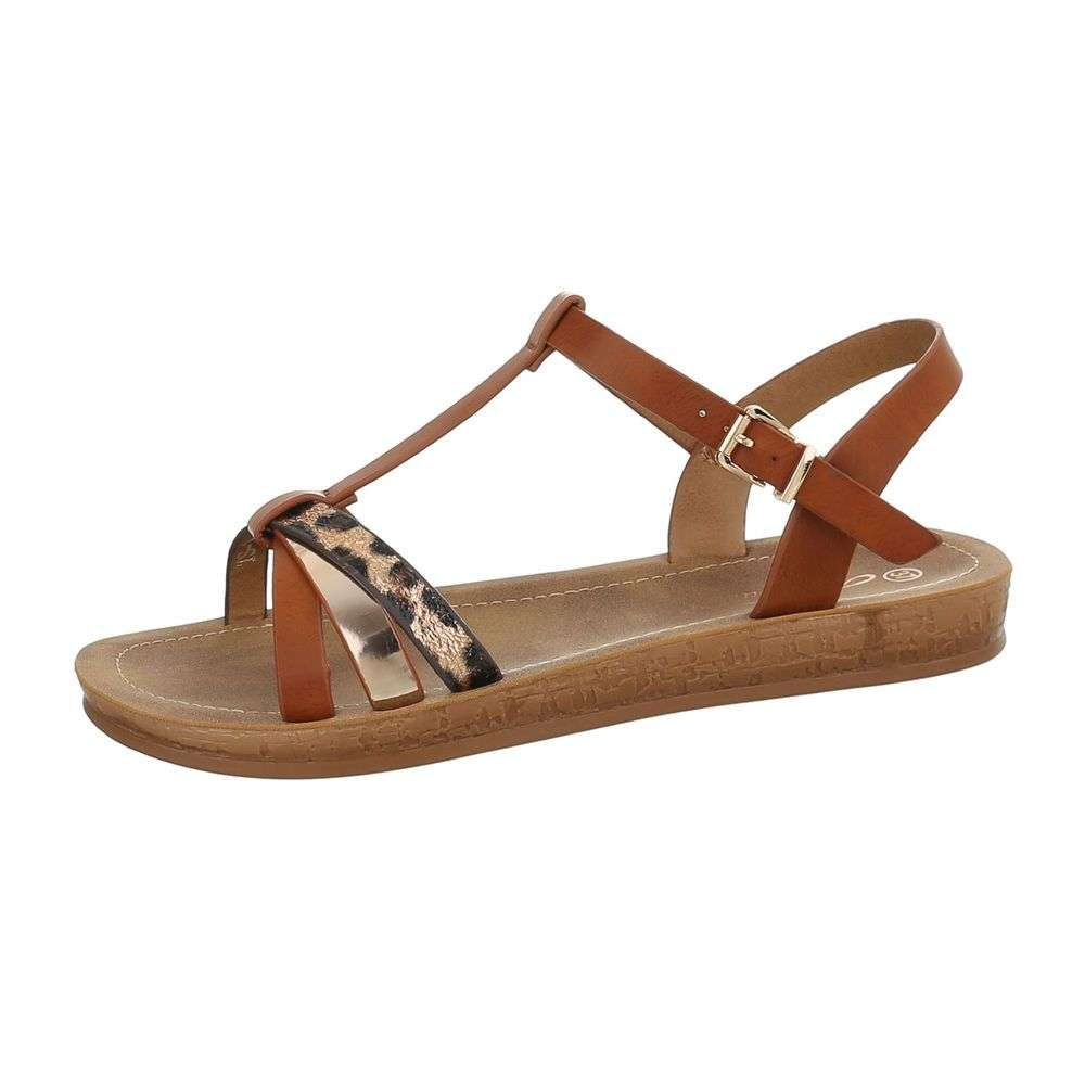 eeec7a67ea084 Pohodlné letné sandále TOP-TS-1-camel