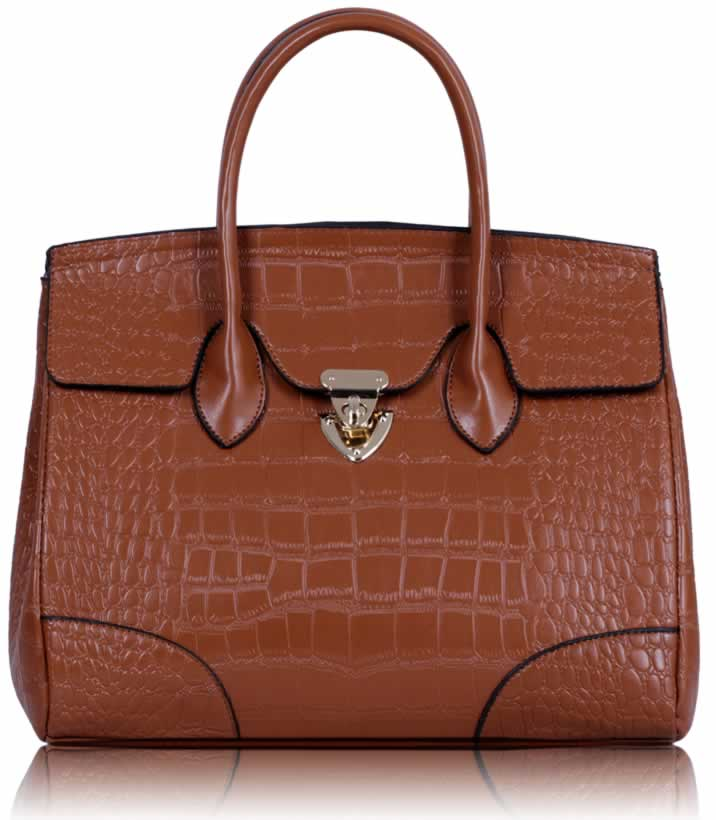 Business kabelka do ruky DK00123-brown