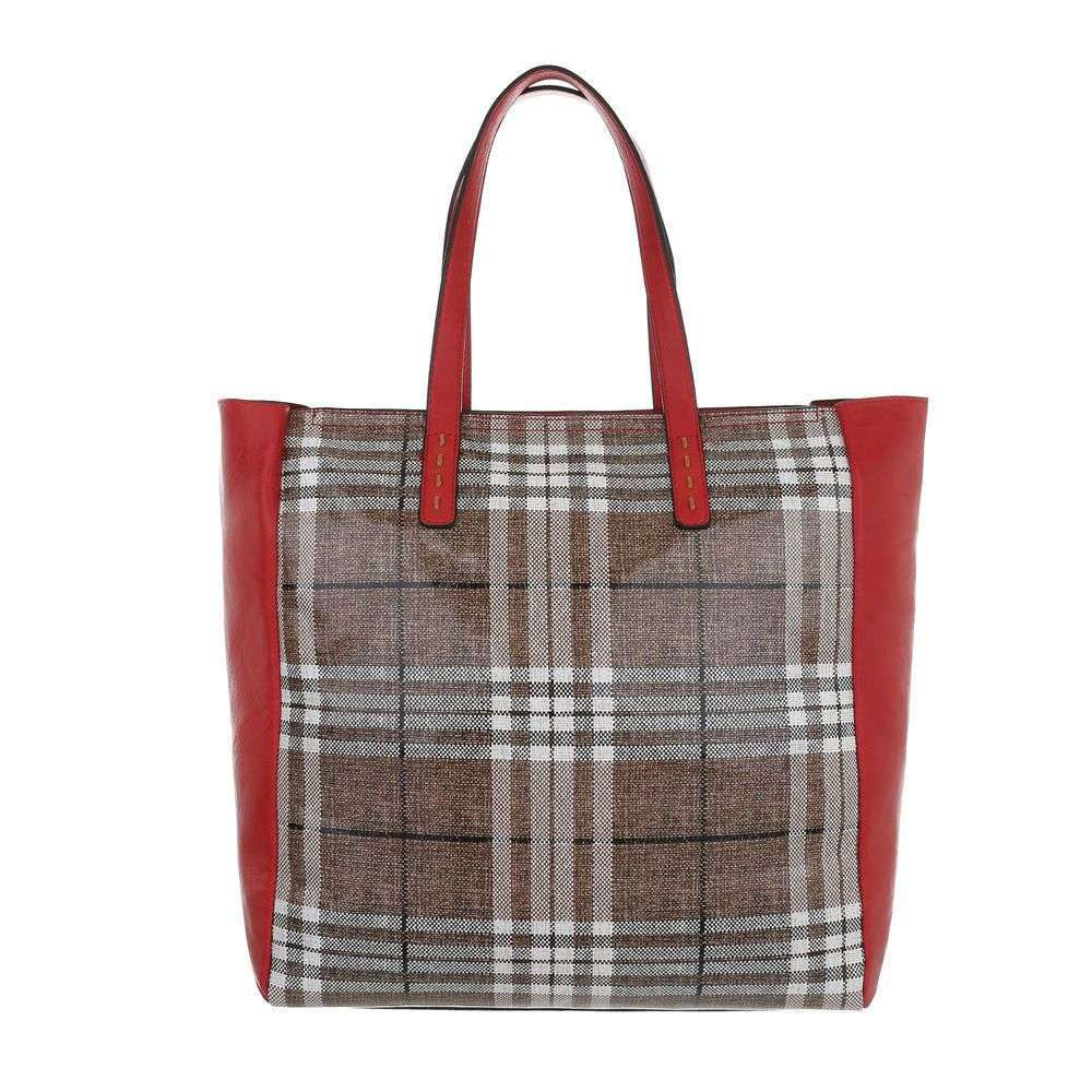 Shopper kabelka do ruky 2v1 VSGL-2835-167-red
