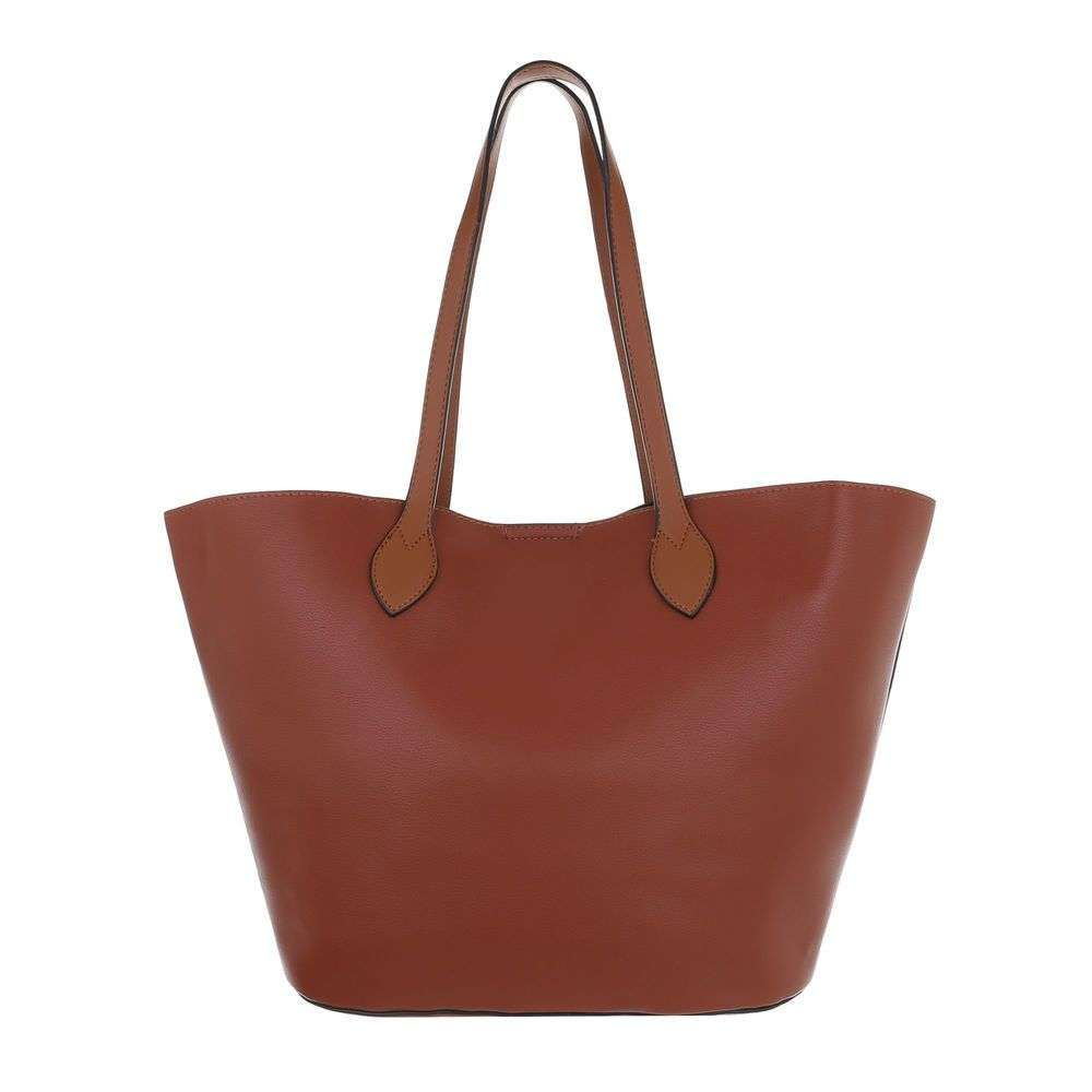 Shopper kabelka 2v1 VSGL-2835-210-brown