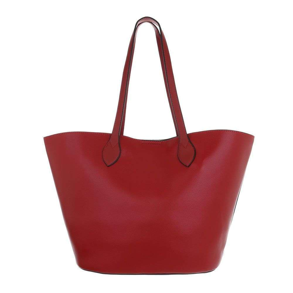 Shopper kabelka 2v1 VSGL-2835-210-red