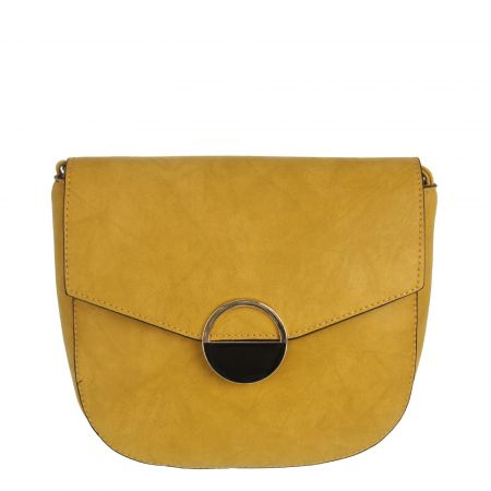 Horčicová crossbody kabelka WE-H582-yellow