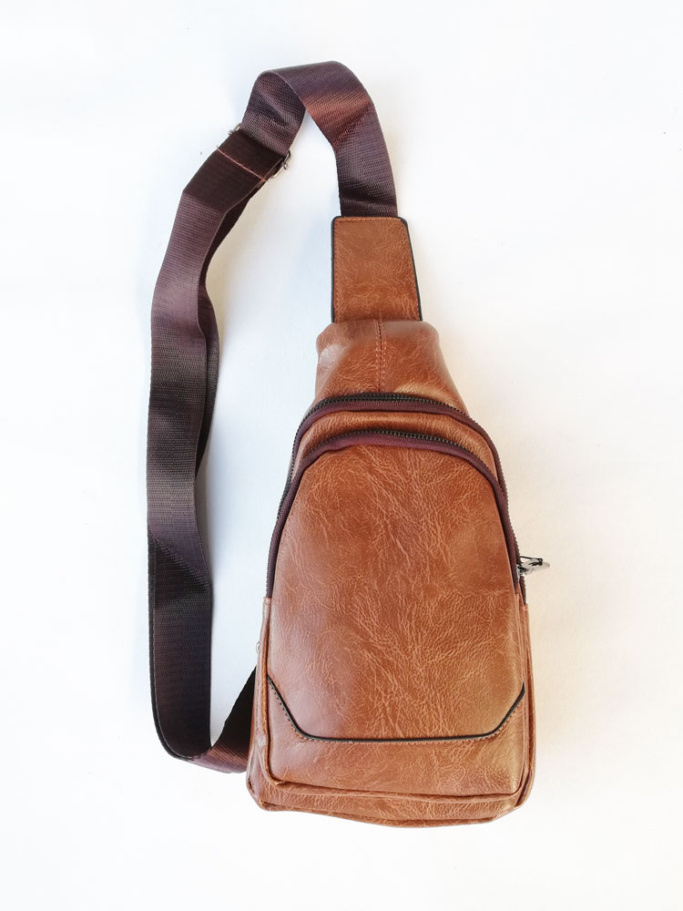 Pánska crossbody kapsička NK-9957-brown
