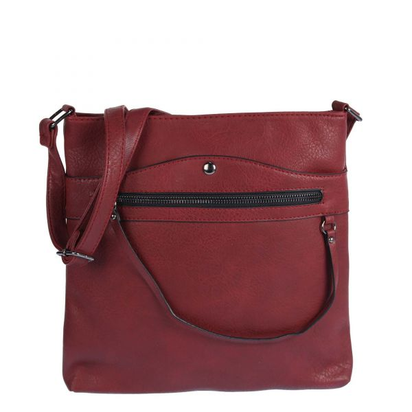 Dámska crossbody kabelka WE-5685-red
