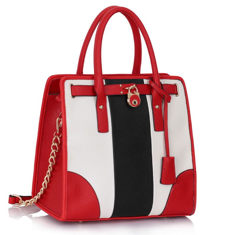 VIP kabelka do ruky DK00336-black/white/red
