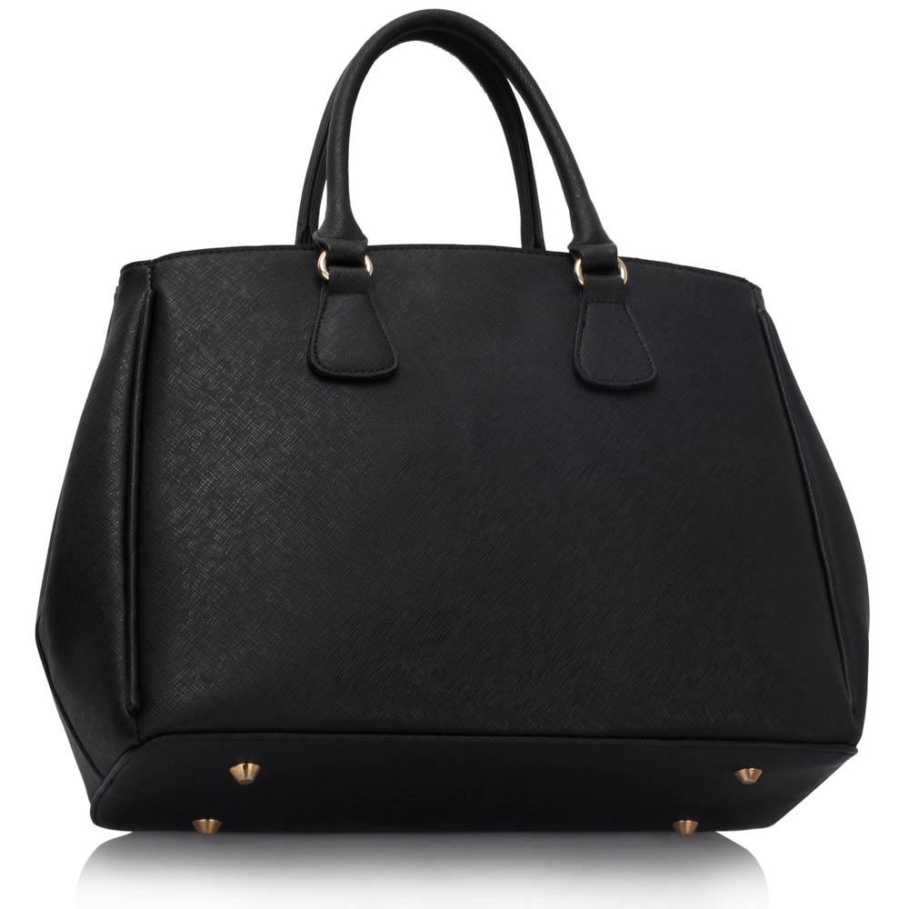 Biznis kabelka do ruky DK00359-black white  c10028b01ab