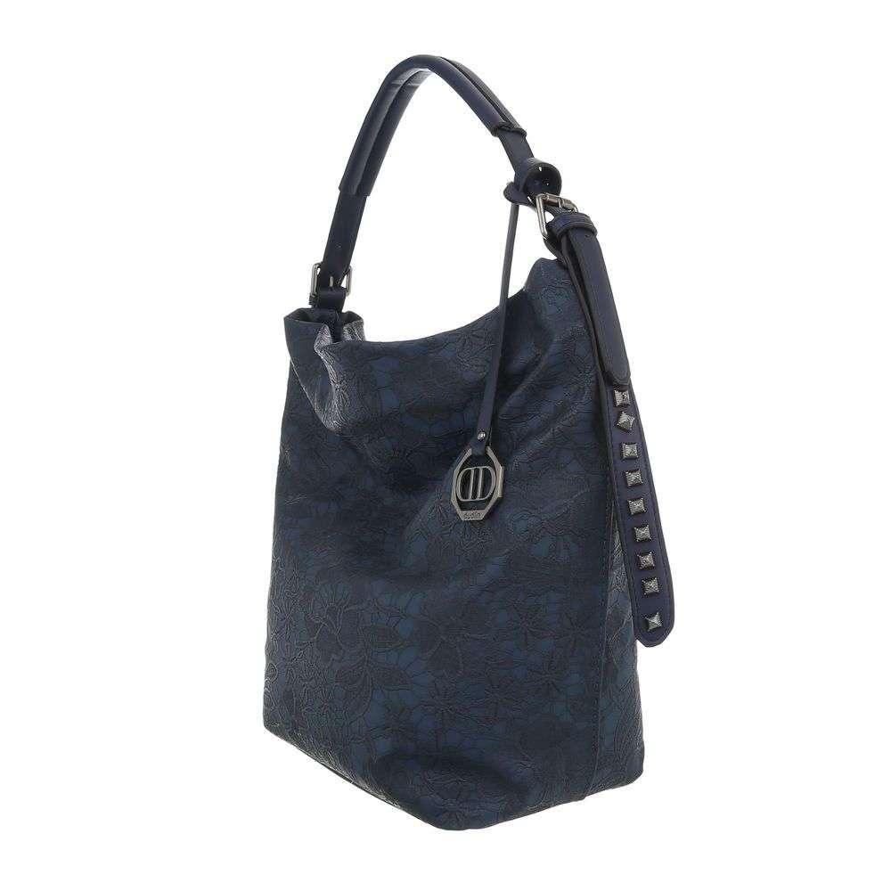 369def36a Tmavomodrá kabelka na rameno VSGL-TA-9335-5-blue