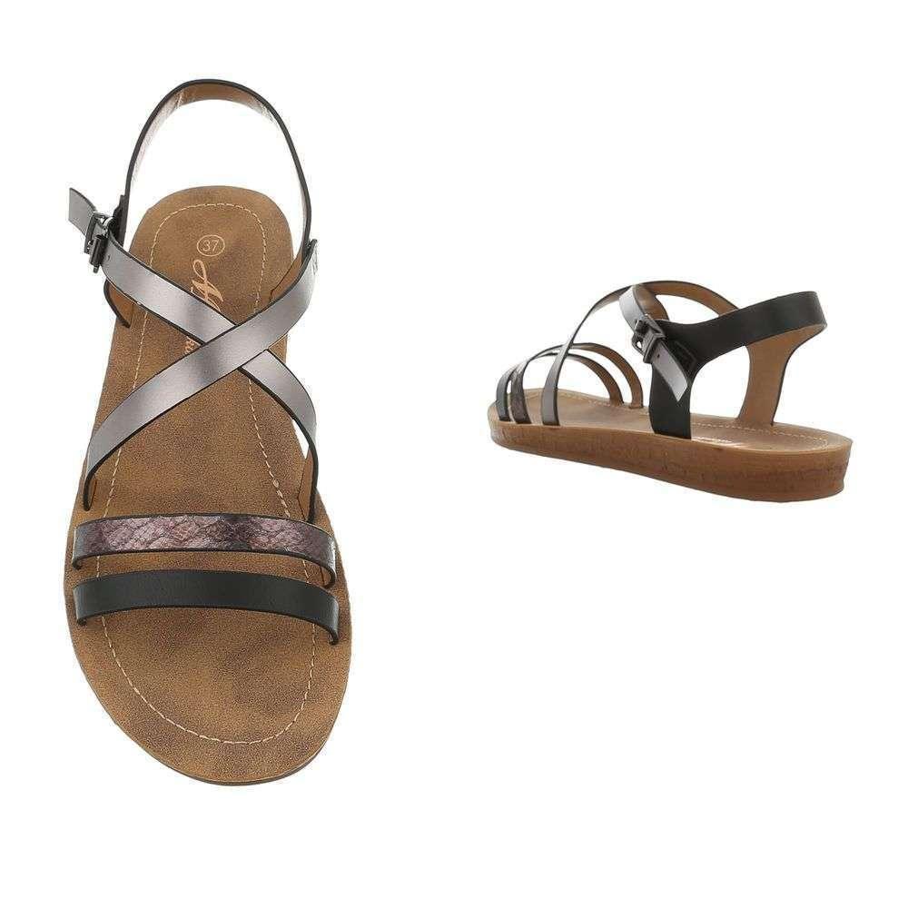7d3eff2e9122a Pohodlné dámske sandále TOP-TS-8-black