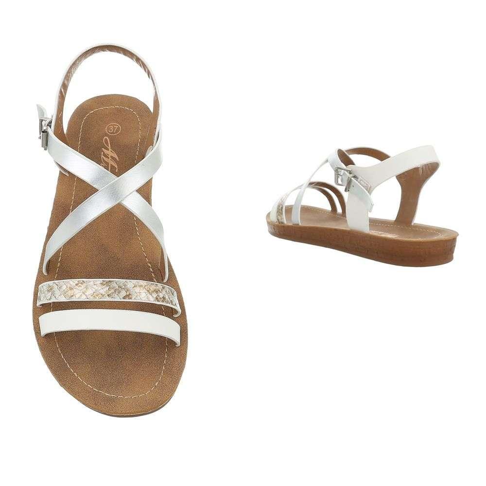 1f97a99b8fc58 Pohodlné dámske sandále TOP-TS-8-white