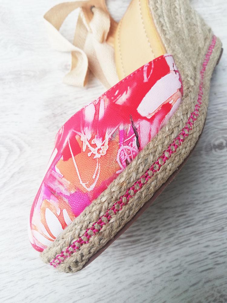 6a5f58ec6e19d Dámske sandále na platforme VI-4056-fuchsia