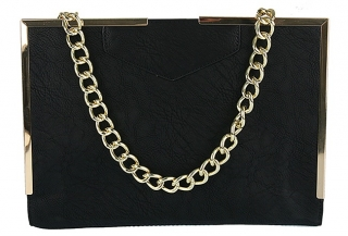 Listovka GOLD CHAIN WE-A431-black